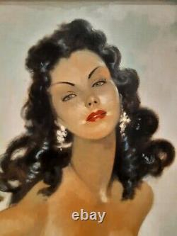 Tableau Jean Gabriel Domergue, (1889 1962) la pin-up Parisienne