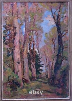 Tableau Original Raymond Verdun début 20ème