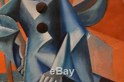 Tableau ROGER HERSON Huile sur toile superbe cubisme