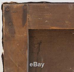 Tableau XIX° Ecole de Barbizon Berbert élève de Daubigny, pour restauration