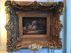 Tableau du XIXème siècle école française huile sur toile signée