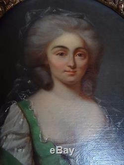 Tableau huile sur panneau18 ème siècle