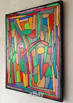 Tableau peinture à huile sur toile unique Aykaz Arzumanyan 61x50cm Painting Oil