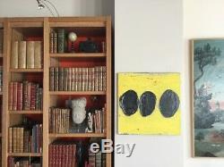 Tony SOULIÉ né en 1955. Les 3 oursins. 1996. Huile/toile. 50x50. Signé et daté au do