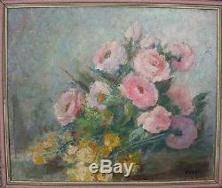Tres belle huile sur toile tableau Kvapil ref Art Price