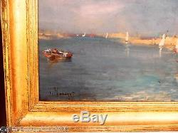 Vincent MANAGO (1880-1936) superbe huile sur toile Orientaliste