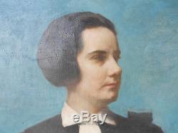 Zwiller Marie Augustin tableau huile sur toile